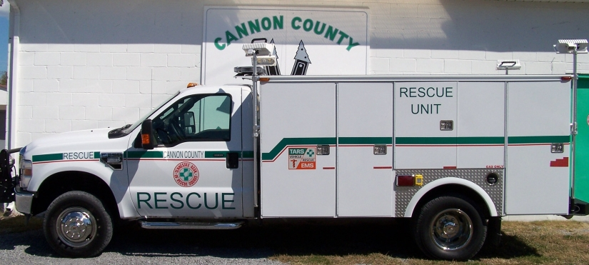 Cannon County's Newest Rescue Unit Truck